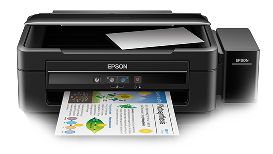 Epson L380 All-in-One Ink Tank Multi-function Color Printer (Black)
